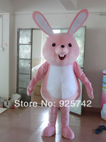 2014 sell like hot cakes PROFESSIONAL EASTER BUNNY MASCOT COSTUME Bugs Rabbit Hare Adult