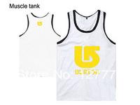 2014 Wholesale Hip-hop o-neck Vest mens Vest Pink dolphin  Vest Free shipping Diamond