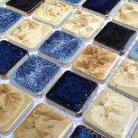 Glaze porcelain tiles swimming pool bathroom flooring kitchen tile backsplash ceramic mediterranean style mosaic wall tiles