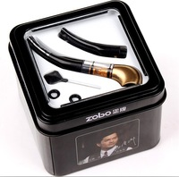 Free Shipping Zobo ZB-038 Cigarette Holder Loop Filter Cigarette Holder Filter Smoking Pipe