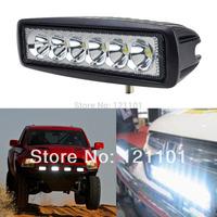 Free Shipping 18w watt LED Work Light led driving light offroad Truck Mini Boat led bar led fog lamp12v spotligh for JEEP Audi