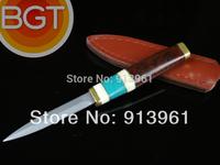 100% Damascus steel Handmade DIY Tea knife Top Collection Yunnan puer tea Neadle gift puer pin Free shipping