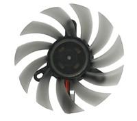 CoolCox 80x80x10mm Frameless fan,CC8010M12S,Sleeve bearing,12V,Graphic Card cooling fan,8010 cooling fan,2P connector,5pcs/lot
