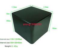 1pcs Full aluminum transformer protect cover enclosure 110*110*96mm AQ