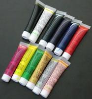 Free Shipping 12 Color 3D Nail Art Paint Tube Draw Painting Acrylic Tip UV Gel  12ml nail polish paint color diy nail