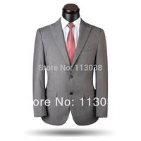 2014 Luxury Men Suits 100% woolen Best Quality  Men Business Single Breasted Men Formal Suits Jacket & Pants Plus Large Size 5XL