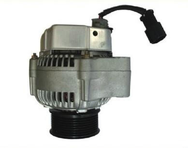24V Komatsu excavator PC200-6 6D102 40A Power Generator 600-861-3410 Alternator Excavator electric machine(China (Mainland))