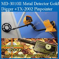 MD-3010II Metal Detector Gold Digger Treasure Hunter  +TX-2002 Pionpionter