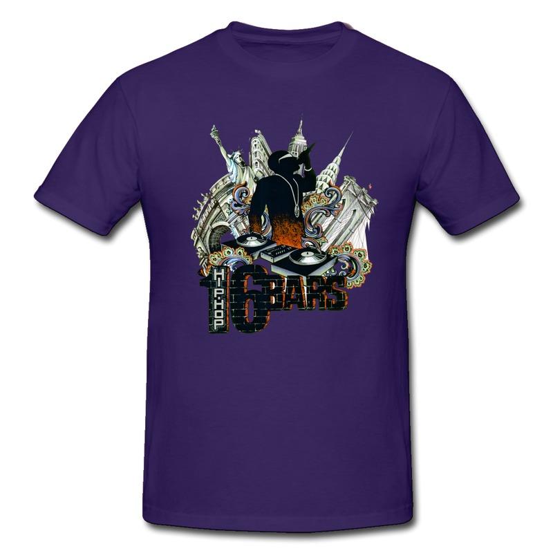 Hip Hop Logo t Shirt Tee Shirt Mans o Neck Hip Hop