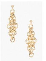 Bigbing Fashion women's tassel chain fashion earring trend personality 18k gold female earrings F