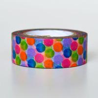 1.5cm 8m Stationery multicolour classic shredded paper tape diy decorative washi tape