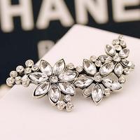 Min. order is $10 (mix orderz) fashion elegant rhinestone flower hair jewelry for women
