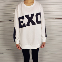 2014 HARAJUKU exo sbs print full -sleeve T-shirt Hoodies