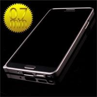 2014 New For Samsung Note 3 N9005 N9000 N9008 0.7MM Metal Border Bumper for Sansung ultrathin Bezel Phone Case Free Shipping