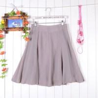 2014 summer chiffon high waist skirt bust expansion skirt puff skirt 0053