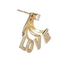 Wholesale Gold Love Earrings Girl Channel Earrings Earrings For Femininos  Free Shipping E063