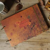 Fall in love photo album photo album diy handmade book clipbook