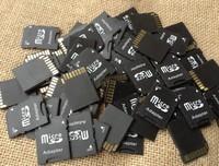 100pcs/lot TF card reader TF TO SD CARD Adapter micro sd TransFlash TF memory card adapter reader  fee Shiping