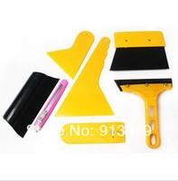 car sticker tools set scraper set blade 7 pieces