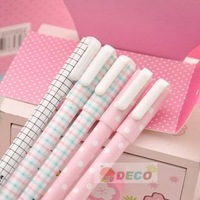 Free shipping, Elegant gel pen, 0.35mm black refill, Office gel pen, Stationery ,New pens(SS-2026)