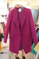 2014 winter wool coat woolen women's outerwear woolen outerwear Y8P1