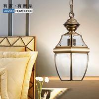 Fashion vintage copper lamp lighting lamps 90009 e