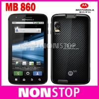 Original Motorola ATRIX 4G MB860 Mobile Phone Android 4.0 ROM 16GB Camera 5.0MP Bluetooth GPS Wifi 3G Cellphone