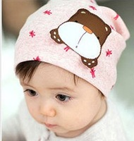 2014 New Cotton Baby Hat Baby Cap infant Caps/Brand Candy Color Knitted Hats Baby/Lovely Baby Clothing Boys & Girls gift