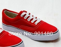 Free Shipping  unisex low style Canvas Shoes men women causal shoes Lace up Classic Sneakers size 35-45