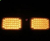 86 LED Super Bright Emergency Light Sun Visor Strobe Led Light 12 flashing Modes