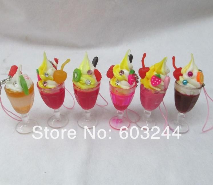 Fruitcake And Ice Cream Fruitcake And Ice Cream