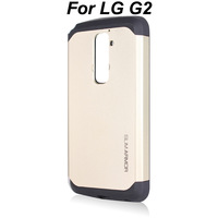 2014 New Gold Korean Style SPIGEN SGP Case for LG Optimus G2 D801 F320 Tough Armor SLIM ARMOR Back Cover For LG G2