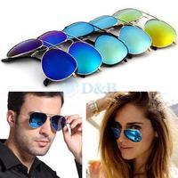 Hot Sale 2014 New Fashion Coating sunglass Frog Mirror Sunglasse Arrival Men Women Loved Unisex Sunglasses 80136