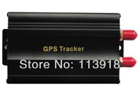 Free Shipping(2pcs/lot)TK103A GPS103 Most Popular and Powerful Vehicle GPS Tracker +Vehicle Alarm QUAD BAND (NOT RETAIL PACKING)