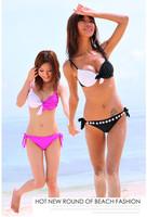 Hot explosion models temperament fresh fashion sexy swimwear temptation to install wavelet point bikini suits beach bikini suit