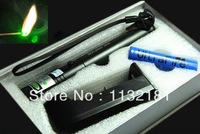 20142014Wholesale - High power 50000mw 532nm green laser pen pointer with charger battery and gift box #G301