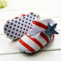 Hot selling sneaker Brand hook &loop (velcro) Baby First Walkers Girl Shoes Gingham  zapatos antislip Baby footwear