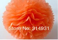 "Free Shipping 500pcs/lot 35cm Tissue 14"" Pom Poms Wedding Party Decoration Craft Paper Flower For Wedding Decoration"