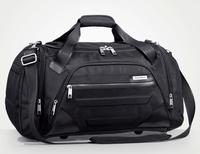 Large capacity black portable waterproof Nylon Men travel bag one shoulder travel gym bag 29*54cm