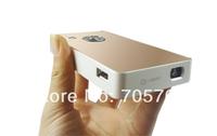 Mini Lcos 3LED Digital Mini Pocket HD Pico TV game Projector HDMI,AV,VGA, Earphone,USB SD for home theater