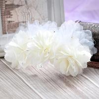 Colour bride hair accessory flower rhinestone stubbiness wedding dress hair accessory wedding dress