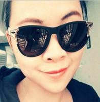 unisex sunglasses retro style sunglasses matte rivets 9029