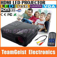 LZ-H80 16:9 Game Projector 1080P 400:1 LCD Digital Video Projector AV/USB/VGA/HDMI/SD/Earphone Multimedia Player Home Theater