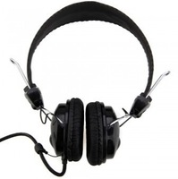 Free Shipping Stereo Wired Headphone Headset Earphone with Microphone for Laptop PC Notebook