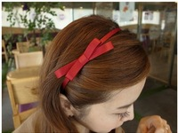 Handmade hair accessory bow hair bands fabric headband
