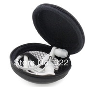 Free shipping New 100PCS/Lot soft earphone receive bag Protection box Headset case for tour headphone