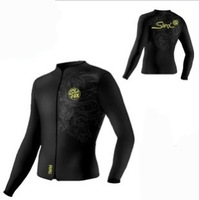 Summer Men Diving Clothes Long Sleeve Neoprene Diving  Jacket 3MM And 5 mm For Men Sun Protection Clothing Swimming Jelly