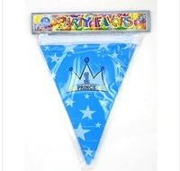 Min Order $10(mixed buy)Children's birthday party decorations Kids party pennant brace  ck001