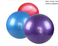65 cm (25.5 Inch) Inflatable Extra Thick Body Balance Ball Kit  Excercise And Stablity Yoga Ball with Foot Pump
