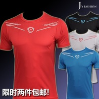 2013 quick-drying short-sleeve T-shirt fast drying clothing quick dry clothing quick-drying t-shirt male lsl070